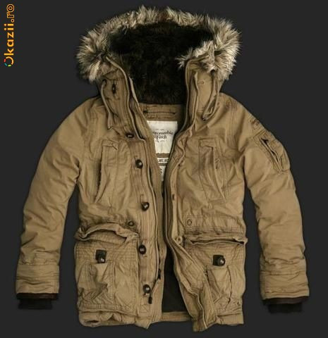 Abercrombie & Fitch Lewey Mountain Jackets.