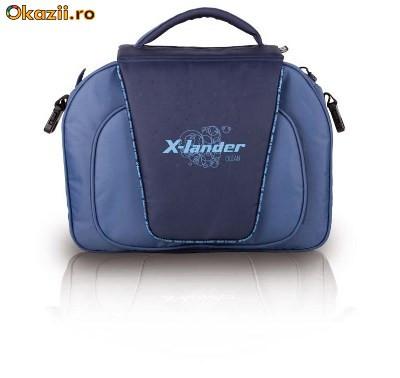 "X-LANDER ::: Сумка для коляски X-Lander  ""x-dag 1 "". Цвет голубой."