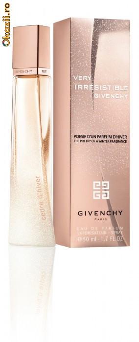 Givenchy Very Irresistible Poesie d'un Parfum d'Hiver Cedre d'Hiver.